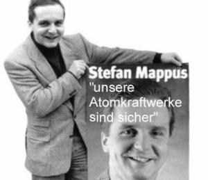 Stefan Mappus -  Unsere Atomkraftwerke sind sicher