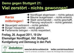Demo 26.08.2011