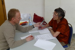 Interview Thomas Mitsch mit Annette Groth, MdB